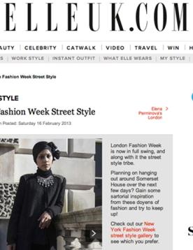 ELLEUK.COM - LFW Street Style September, 2012